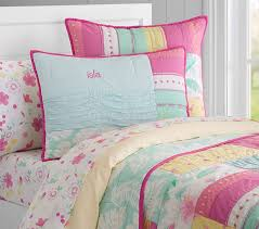 Girls Quilted Bedding by Isla Surf Patch Quilt Pottery Barn Kids
