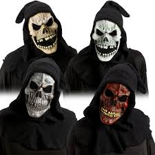 Skull Mask Halloween Shroud Skull Mask Halloween