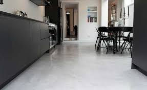how to choose resin or concrete flooring homes