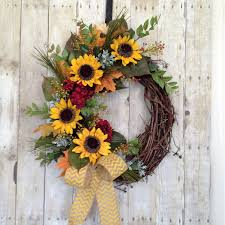 country wreaths for front door front door wreath summer door