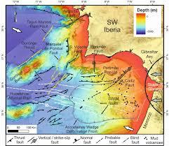 Ocean Depth Map Geolog Geotalk The Life And Death Of An Ocean U2013 Is The Atlantic
