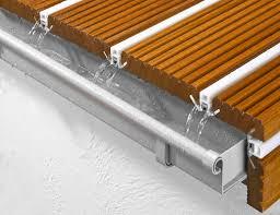 balkon dielen alpha wing wasserableitende und schmutzdichte terrassen und