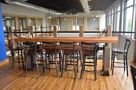 restaurant high top tables restaurant the industrial farmhouse regarding bar tables prepare