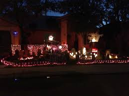 Halloween Light House by Halloween House Decorating Contest U2013 Gilbertnow Com