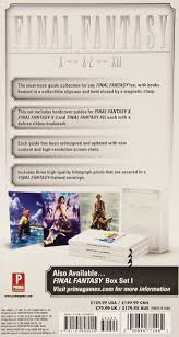 final fantasy 10 2 strategy guide final fantasy box set 2 official game guide prima games