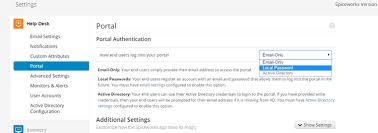 Help Desk Portal Examples Spiceworks Help Desk User Portal Documentation Spiceworks
