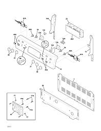 Kitchenaid Toaster Oven Parts List Frigidaire Plef398aca Electric Range Timer Stove Clocks And