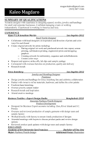 Fashion Design Resume What Is The Difference Between A Resume And A Cv Resume For Your