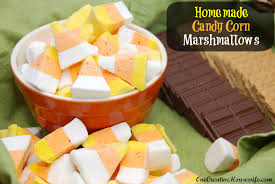 one creative housewife homemade candy corn marshmallows u0026 s u0027mores