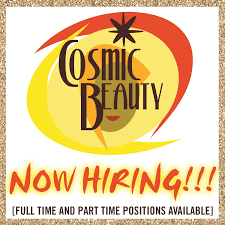 cosmic beauty hawaii is now hiring
