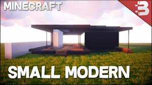 how to build a small house minecraft how to build a small modern house tutorial minecraft