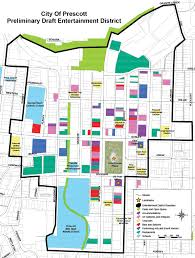 Map Of Prescott Arizona by Entertainment District Would Allow Council To Grant Liquor