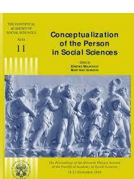 Décrets De 1950 Retour Vers Le Passé Acta 11 Conceptualization Of The Person In Social Sciences