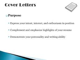 resume cover letters shows off your qualifications