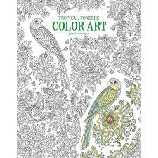 wildlife coloring book tropical wonders color art for everyone coloring book
