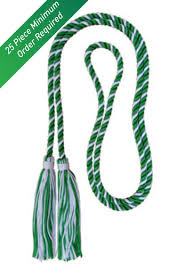 graduation cord graduation honor cord green white naf store