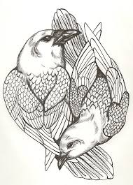 yin yang dove and raven design by valkyriestears on deviantart