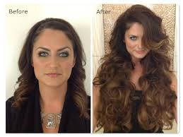 18 inch hair extensions before and after the safest and cheapest hair extension method for short and thin