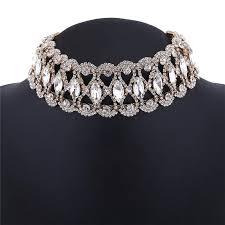 vintage crystal choker necklace images Glamour girl crystal choker virtual glam shop jpg