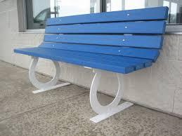 horseshoe frame park bench 369 00 wood kits park benches
