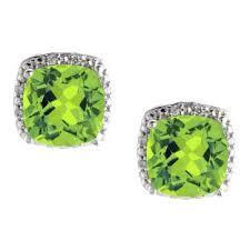 peridot earrings peridot earrings peridot stud earrings peridot hoop earrings from