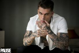 credit karma commercial actress tattoo exclusive interview pause meets stephen james pause online