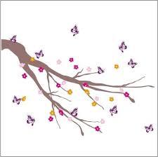 stickers papillon chambre bebe arbre à papillons décoration chambre bébé et cadeaux naissance