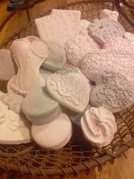 decoration en platre petit panier de plâtres parfumés sujets en plâtre et porcelaine
