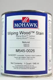 mohawk wiping wood stain heritage finishing products tucker