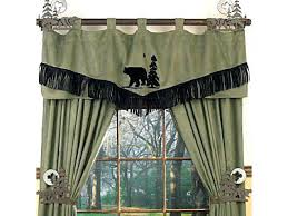 Curtains For A Cabin Lodge Valance Buy Rustic Curtains Cabin Window Treatments And