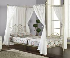 Wrought Iron Canopy Bed Bedroom Fabric Bed Canopy Bed Crown Canopy Set Farnichar Bed
