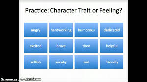 Character Trait Worksheet 3rd Grade Character Traits Lessons Tes Teach