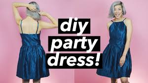 how to make a party dress halter dress style withwendy youtube