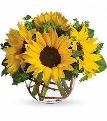 Sunflower Centerpieces Bellevue Florists Flowers In Bellevue Wa And Flower Delivery