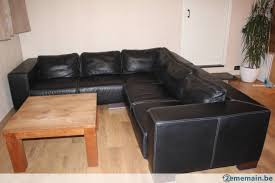 canapé m canapé en cuir d angle 2 70 x 2 70 m a vendre 2ememain be
