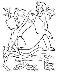 jungle book mowgli happy meet bagheera jungle