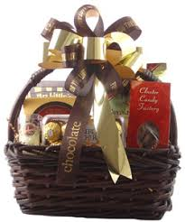 chocolate gift basket for the of chocolate gift basket by personalized gift baskets