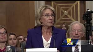 maryland educators weigh in on betsy devos confirmation