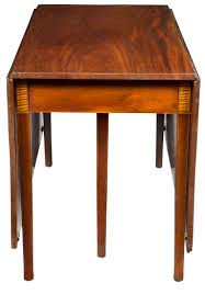 Antique Mahogany Dining Room Furniture by Federal Mahogany Hepplewhite Three Part Banquet Dining Table