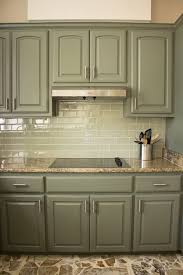 Painted Kitchen Cabinets Color Ideas Kitchen Kitchen Cabinet Paint Colors Light Green Painted