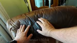 how to fix cut in leather sofa fixing a tear in a leather chair a cheap fix youtube