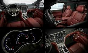 jeep grand interior 8 amazing facts about new jeep grand cherokee trackhawk autotribute