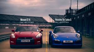 nissan gtr vs porsche 911 turbo s vs nissan gt r
