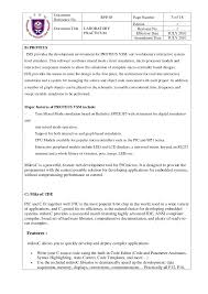 Patient Service Representative Resume Examples by Lab 1 Microcontroller