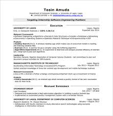 resume for internship in computer science pdf files android developer resume template 10 free word excel pdf