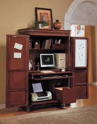 Computer Desk Armoires Computer Armoire Great Idea To Shut Away Clutter Since Computer