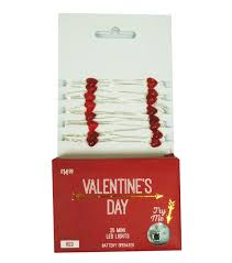 valentines day lights s day 25 count heart mini led lights joann