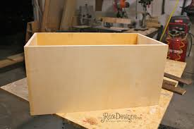 wooden toy box diy wooden furniture plans