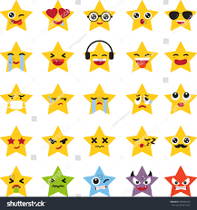 halloween emoji background emoji stars icons stock vector 495064159 shutterstock