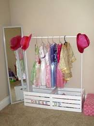 ikea billy bookcase hack diy dress up closet by rain on a tin